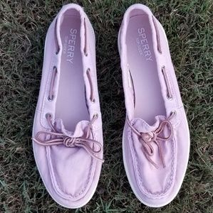 Pink Sperry Shoes Size 9 Topsiders